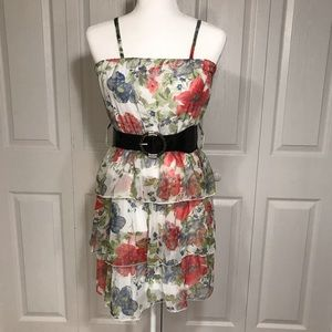 Chesley floral dress with adjustable straps NWT